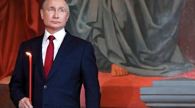 Putin elogia la respuesta de Rusia ante la pandemia