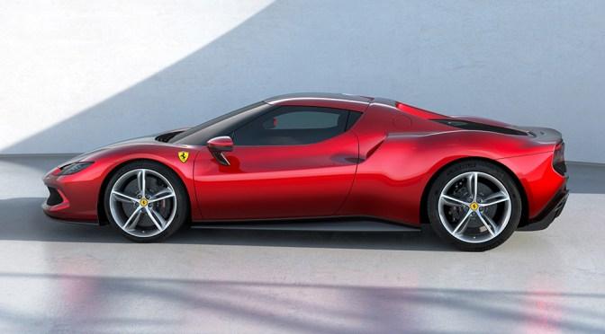 Ferrari presenta un coche deportivo híbrido V6 para ampliar la oferta electrificada