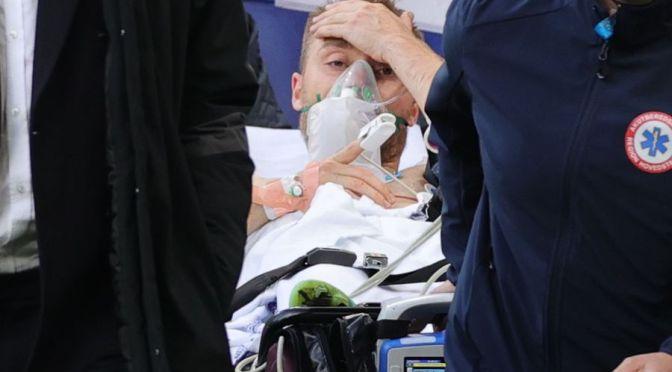 Eriksen tuvo un paro cardíaco pero los resultados de las pruebas son normales, dice el médico