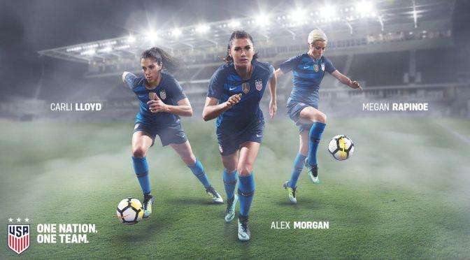 Lloyd, Rapinoe  y Morgan encabezan la lista del equipo olímpico de futbol femenil de Estados Unidos