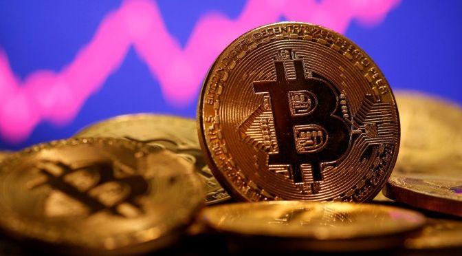 Bitcoin cae un 8.5% a 31,700 dólares