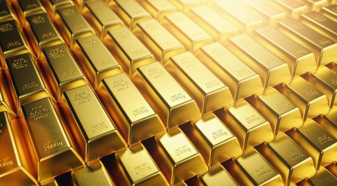 Precios del oro caen a nu nivel más bajo en dos semanas
