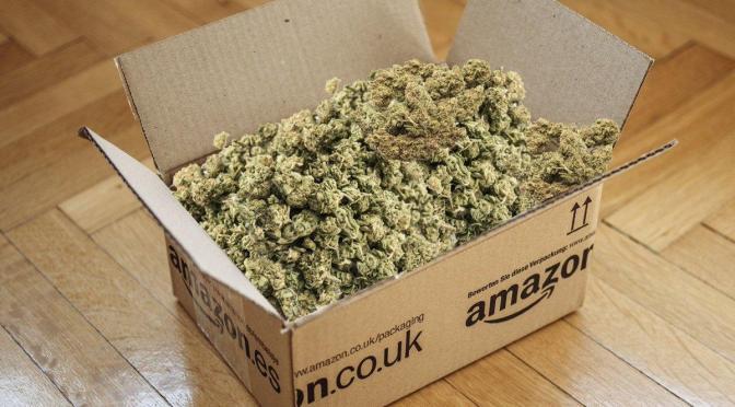 Amazon apoya la legalización de la marihuana