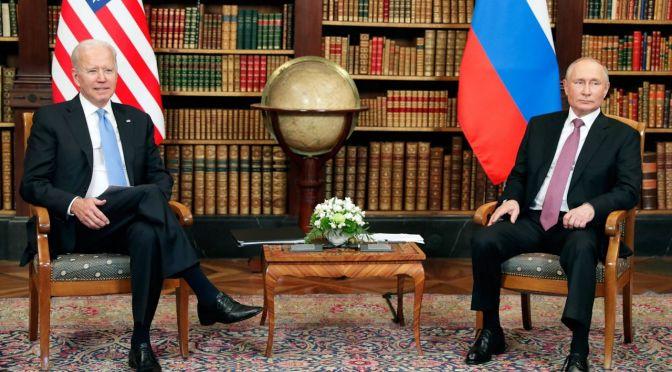 Sin abrazos ni balazos, sólo negocios, así fue la reunión Biden-Putin