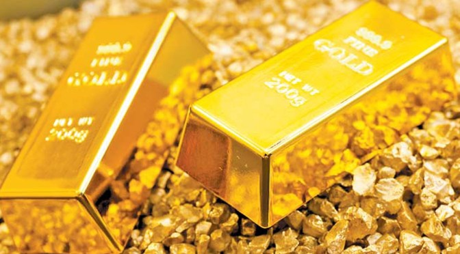 Precios del oro revirtieron las pérdida