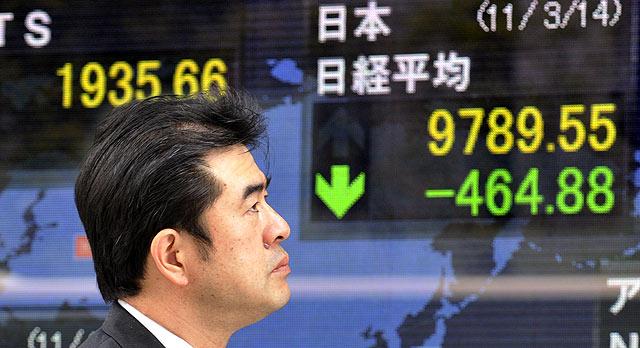 Nikkei cierra por debajo del nivel de 28,000 por segundo día a pesar del impulso de Wall Street