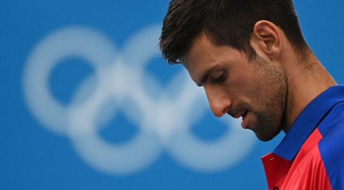 Se terminó el sueño dorado, Djokovic cae en semifinales en Tokio 2020