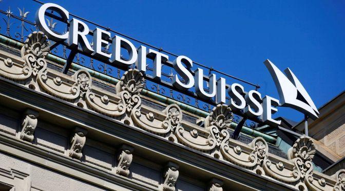 Credit Suisse nombra nuevo director de operaciones de gestión