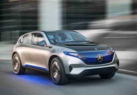 Mercedes-Benz golpea el acelerador en la carrera de autos electrónicos con Tesla