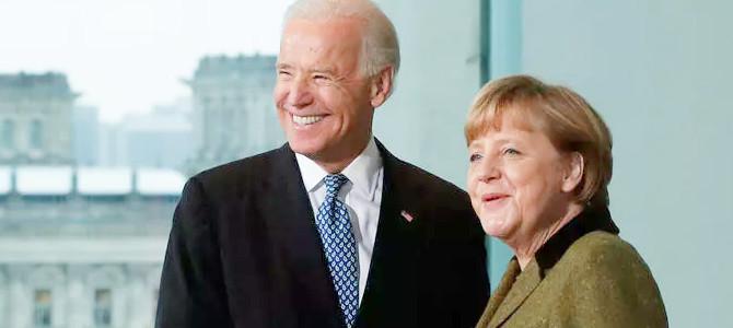 Biden recibe a Merkel en su último viaje como canciller