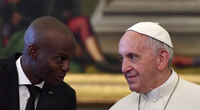 """Papa envía condolencias por """"atroz asesinato"""" de presidente de Haití"""