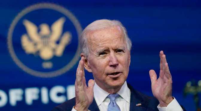 Inflación es temporal; la Fed debe hacer lo que considere necesario para la recuperación: Biden