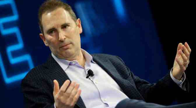 Crecimiento de las ventas de Amazon se desacelera en el comienzo del mandato de Andy Jassy como CEO