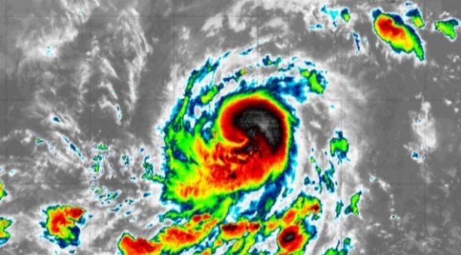 Huracán Felicia se forma en el Pacífico, aunque sigue lejos de costas