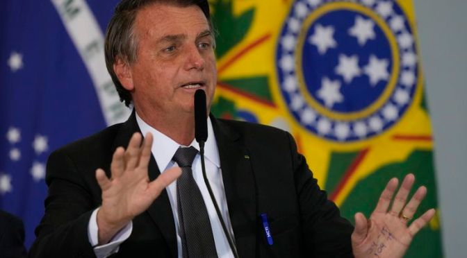 Bolsonaro nombra nuevo jefe de gabinete