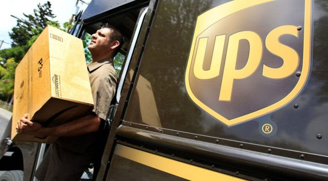 UPS supera las estimaciones de beneficios en el impulso de la entrega en línea