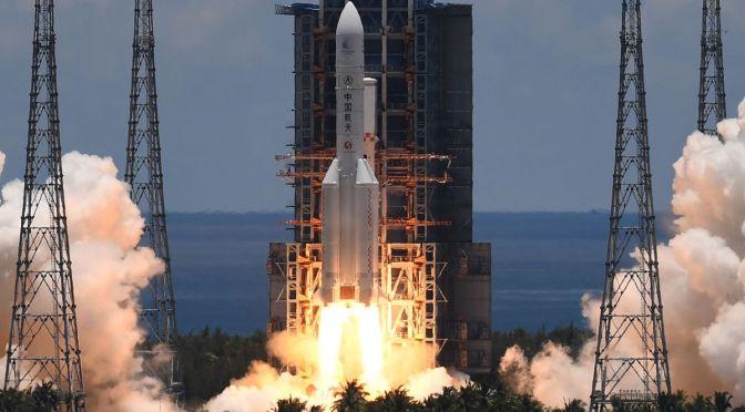 Agencia Espacial China realiza tres lanzamientos espaciales exitosos en cuatro días