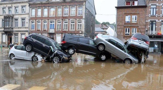 Reportan más de más de 110 muertos por inundaciones en Alemania y Bélgica