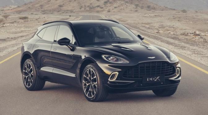 Primer SUV de Aston Martin ayuda a subir las ventas en más de un 200%