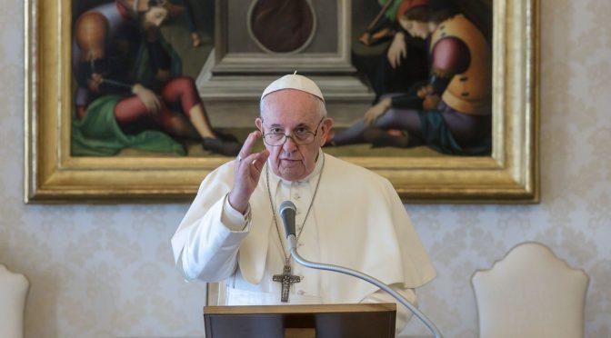 Papa Francisco da su bendición a los Juegos Olímpicos de Tokio