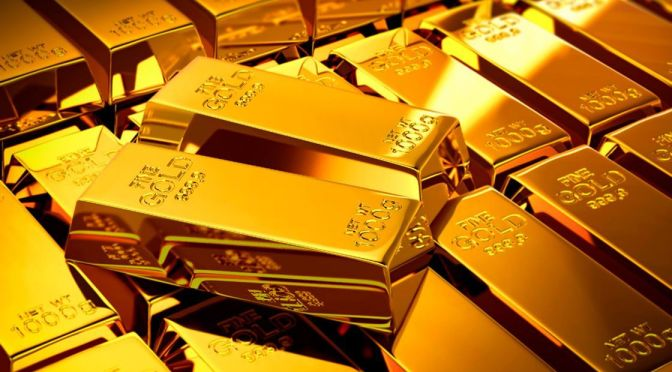 Precios del oro suben 1% al cierre de la semana