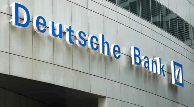 Cuota de mercado del Deutsche Bank se reduce en algunas áreas