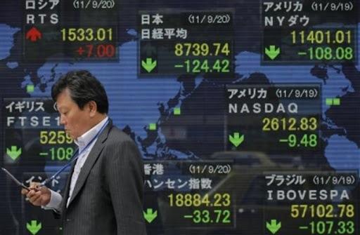Acciones de Asia se sitúan en mínimos de 2021