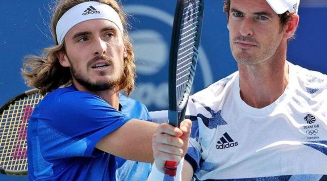 Murray y Tsitsipas dan un partido para recordar al inicio del US Open