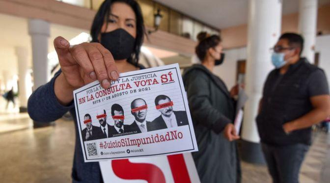 Se realizó sin sobresaltos votación para juicio contra expresidentes