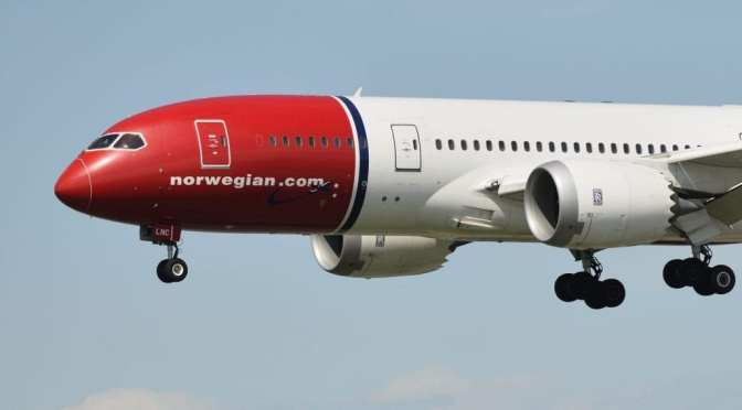 Norwegian Air detalla que relajación en las restricciones de viajes levantó las reservas