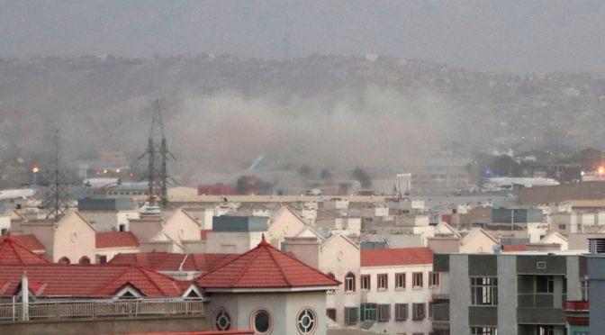 Ataque de drones estadounidenses golpea un coche bomba del Estado Islámico en Kabul