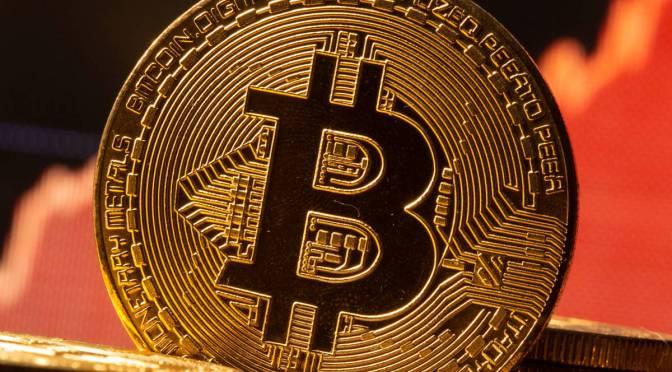 Bitcoin aumenta un 7.07% para llegar a los 47,587.38 dólares