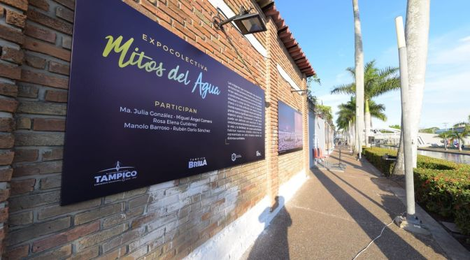"""Chucho Nader apertura exposición colectiva """"Los Mitos del Agua"""""""