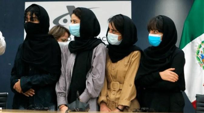 Afganas refugiadas en México quieren ser la voz de su pueblo