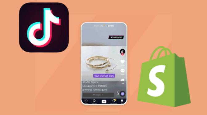 Shopify y TikTok se unen para permitir a los usuarios comprar desde la aplicación