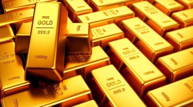 Precios del oro disminuyeron en un rango ajustado