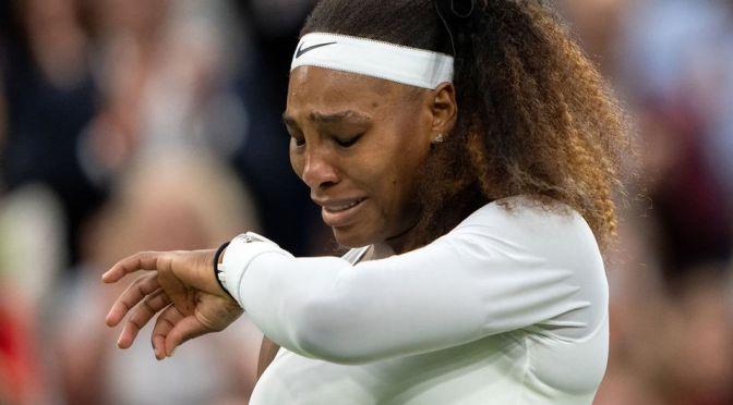 Serena Williams se retira del Abierto de Estados Unidos debido a un desgarro de isquiotibial