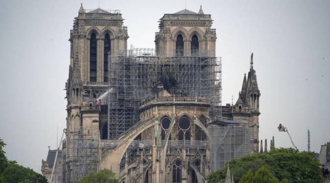 Restauración de Notre-Dame está lista para comenzar cuando se complete el trabajo de seguridad