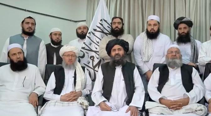 Gobierno interino talibán acuerda dejar que los extranjeros salgan de Afganistán