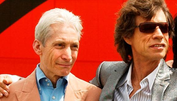 Mick Jagger llamó a Charlie Watts como la roca que mantuvo unidos a los Rolling Stones