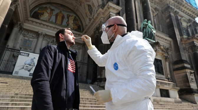 Alemania suma 4 millones de casos Covid desde inicio de pandemia