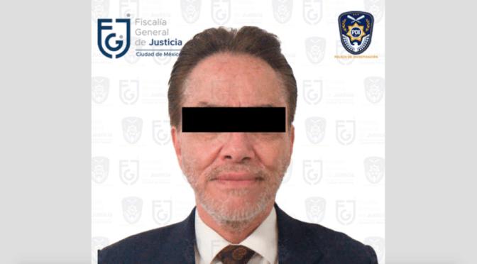 Alejandro del Valle presidente de Interjet es detenido en la CDMX acusado de fraude