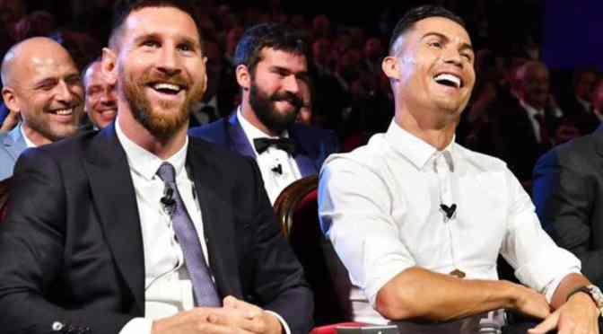 Cristiano salta a Messi en la lista de jugadores con los mejores ingresos de Forbes