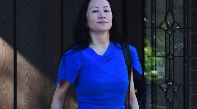 Director financiero de Huawei llega a un acuerdo con EU por cargos de fraude