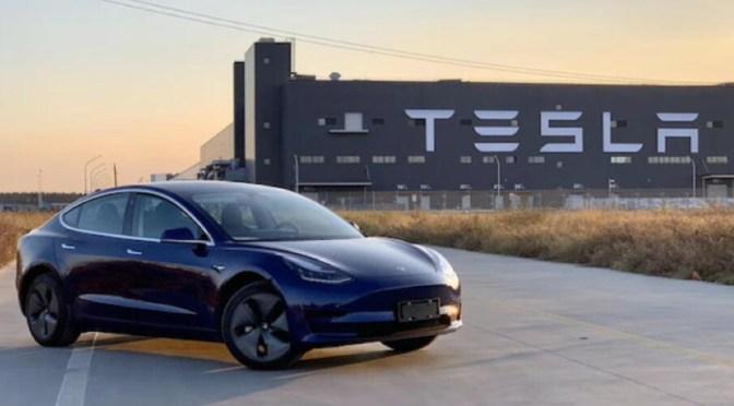 Tesla vendió un récord de 56,006 vehículos fabricados en China en septiembre