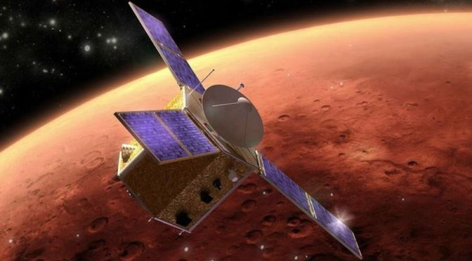 Emiratos Árabes lanzará sonda espacial dirigida a un asteroide entre Júpiter y Marte