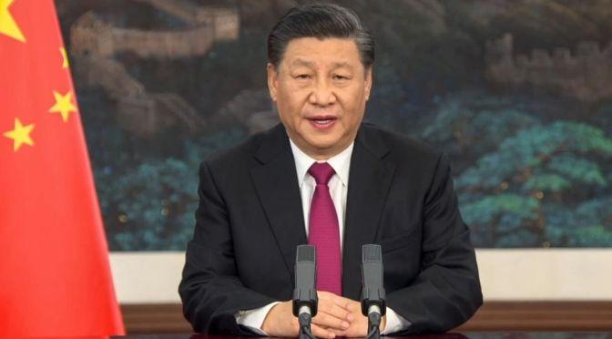 """China promete """"reunificación"""" con Taiwán, pero retiene la fuerza amenazante"""