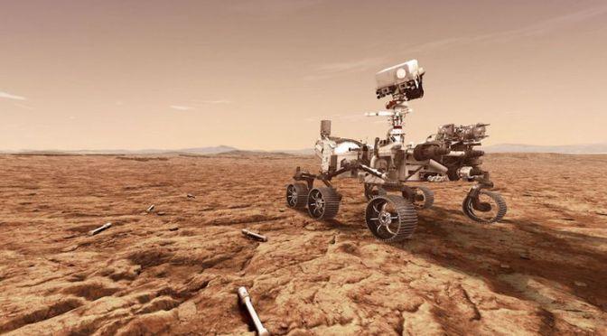 Perseverance de la NASA confirma que el cráter Jezero fue un antiguo lago en Marte