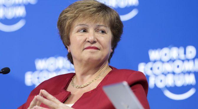 Directivos del FMI se reunirá hoy para charlar sobre el futuro de Georgieva