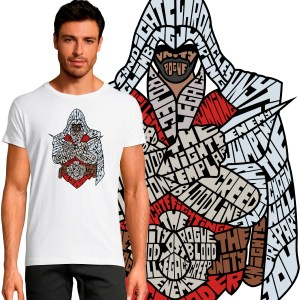 T-shirt Homme Assassins Creed By KalliGram